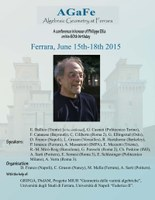 AGaFe conference - A conference in honour of Philippe Ellia on his 60th birthday