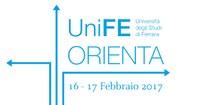 UniFE Orienta: 16-17 Febbraio 2017